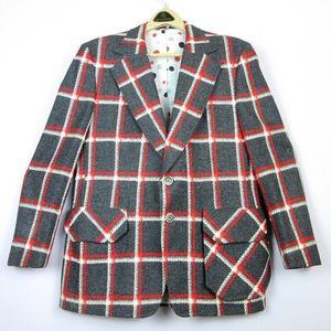 """Vintage 1970's Men's Canadian Wool Suit 44"""" Chest"""